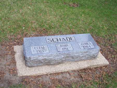 SCHADE, JOHN - Palo Alto County, Iowa | JOHN SCHADE