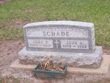CURRANS SCHADE, JANE A. - Palo Alto County, Iowa | JANE A. CURRANS SCHADE