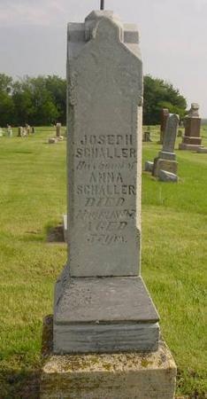 SCHALLER, JOSEPH & ANNA - Palo Alto County, Iowa | JOSEPH & ANNA SCHALLER
