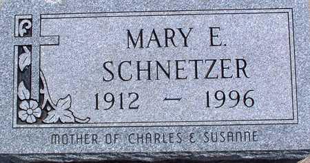 SCHNETZER, MARY - Palo Alto County, Iowa   MARY SCHNETZER