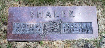 SHALER, JESSIE I. - Palo Alto County, Iowa | JESSIE I. SHALER