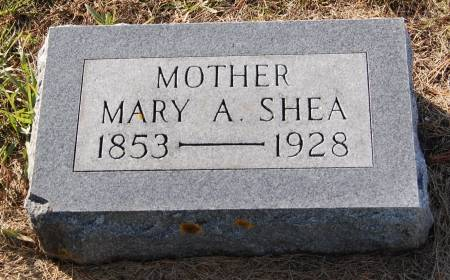 SHEA, MARY A. - Palo Alto County, Iowa | MARY A. SHEA