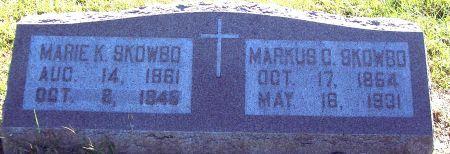 SKOWBO, MARIE KATHERINE - Palo Alto County, Iowa | MARIE KATHERINE SKOWBO
