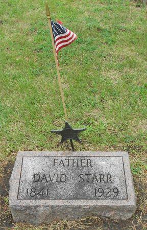 STARR, DAVID - Palo Alto County, Iowa | DAVID STARR