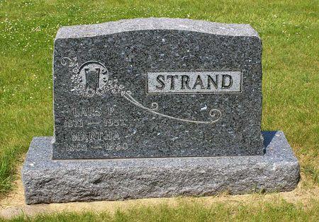STRAND, LARS P. - Palo Alto County, Iowa | LARS P. STRAND