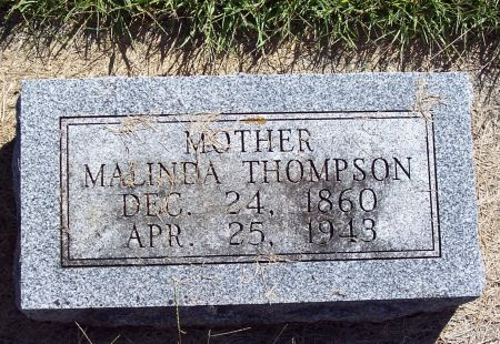 THOMPSON, MALINDA - Palo Alto County, Iowa | MALINDA THOMPSON