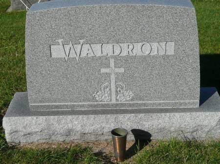WALDRON, FAMILY - Palo Alto County, Iowa | FAMILY WALDRON