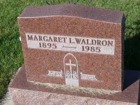 WALDRON, MARGARET L - Palo Alto County, Iowa | MARGARET L WALDRON