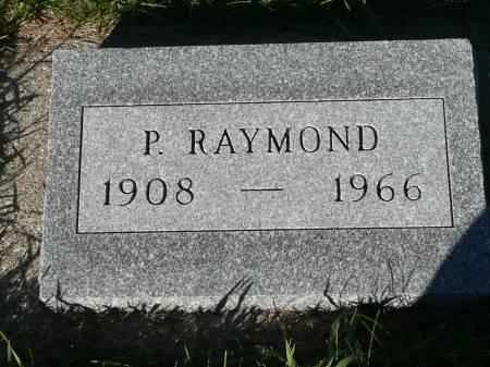 WALDRON, P RAYMOND - Palo Alto County, Iowa   P RAYMOND WALDRON