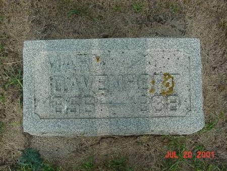 WALSH, MARY - Palo Alto County, Iowa | MARY WALSH