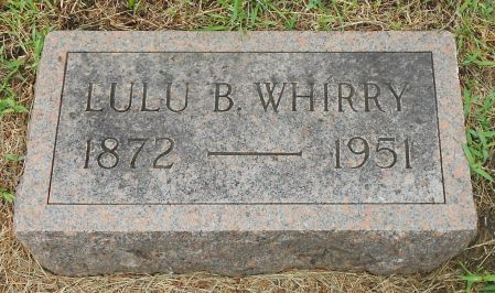 STARR WHIRRY, LULU BELLE - Palo Alto County, Iowa | LULU BELLE STARR WHIRRY