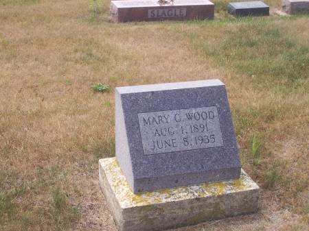 WOOD, MARY G. - Palo Alto County, Iowa | MARY G. WOOD