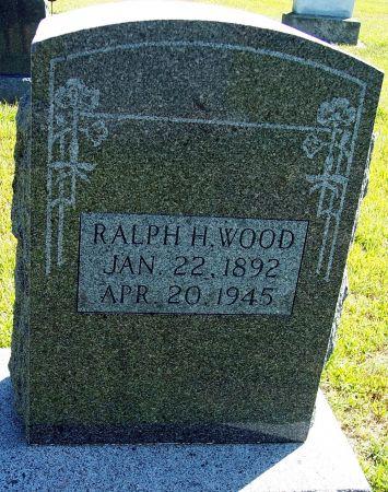 WOOD, RALPH H - Palo Alto County, Iowa   RALPH H WOOD
