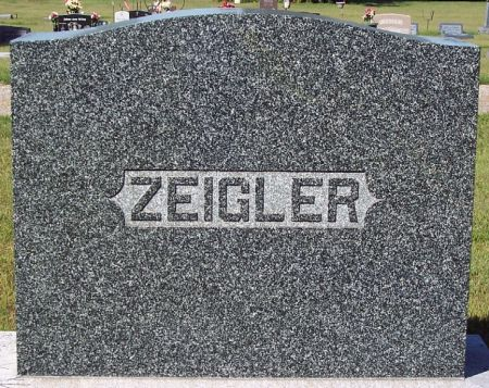 ZEIGLER, FAMILY MEMORIAL - Palo Alto County, Iowa | FAMILY MEMORIAL ZEIGLER