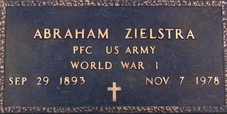 ZIELSTRA, ABRAHAM - Palo Alto County, Iowa   ABRAHAM ZIELSTRA