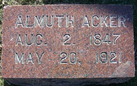 ACKER, ALMUTH - Plymouth County, Iowa | ALMUTH ACKER