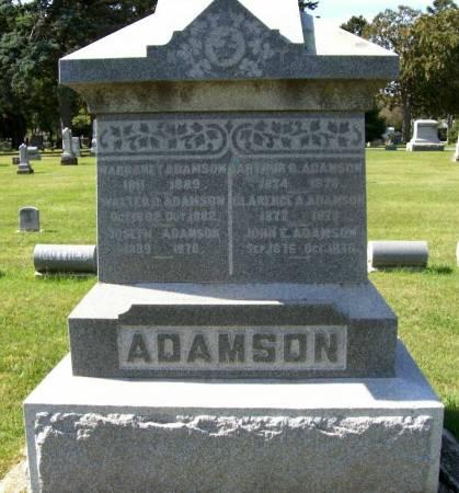 ADAMSON, CHARLES T. - Plymouth County, Iowa | CHARLES T. ADAMSON