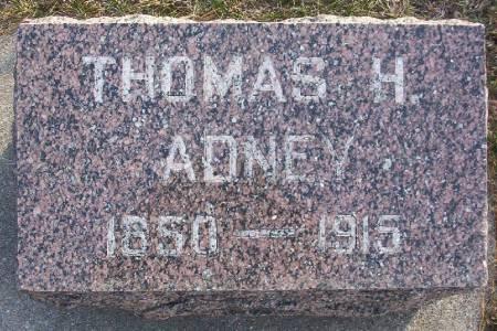 ADNEY, THOMAS H. - Plymouth County, Iowa | THOMAS H. ADNEY