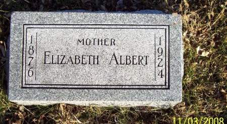 ALBERT, ELIZABETH - Plymouth County, Iowa | ELIZABETH ALBERT