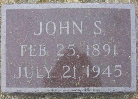 ALBERT, JOHN SAMUEL - Plymouth County, Iowa | JOHN SAMUEL ALBERT