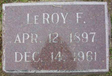 ALBERT, LE ROY F. - Plymouth County, Iowa | LE ROY F. ALBERT