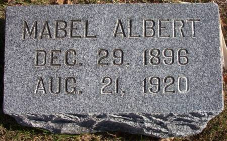 ALBERT, MABEL - Plymouth County, Iowa | MABEL ALBERT