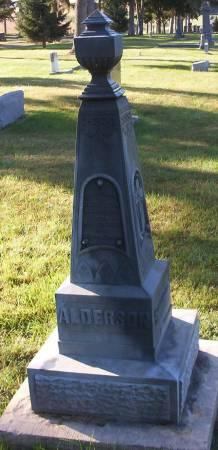 ALDERSON, ELIZABETH - Plymouth County, Iowa | ELIZABETH ALDERSON
