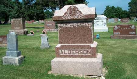 ALDERSON, FAMILY STONE - Plymouth County, Iowa | FAMILY STONE ALDERSON