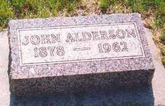 ALDERSON, JOHN WILLIAM - Plymouth County, Iowa | JOHN WILLIAM ALDERSON