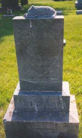 ALDERSON, RUTH LEONE - Plymouth County, Iowa | RUTH LEONE ALDERSON
