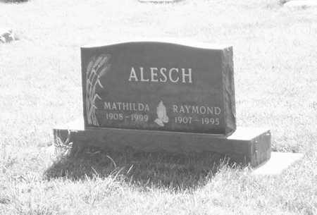 ALESCH, RAYMOND - Plymouth County, Iowa | RAYMOND ALESCH