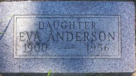 ANDERSON, EVA - Plymouth County, Iowa   EVA ANDERSON