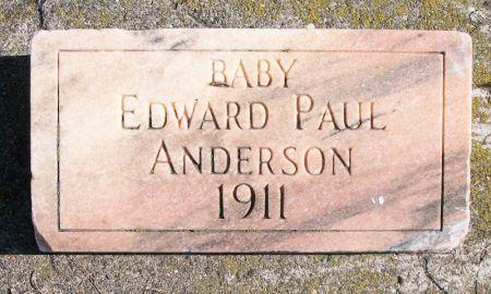 ANDERSON, EDWARD PAUL - Plymouth County, Iowa   EDWARD PAUL ANDERSON