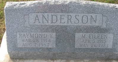 SIMONS ANDERSON, M. EILEEN - Plymouth County, Iowa | M. EILEEN SIMONS ANDERSON