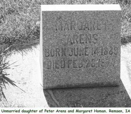 ARENS, MARGARET - Plymouth County, Iowa | MARGARET ARENS