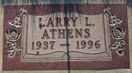 ATHENS, LARRY L. - Plymouth County, Iowa | LARRY L. ATHENS