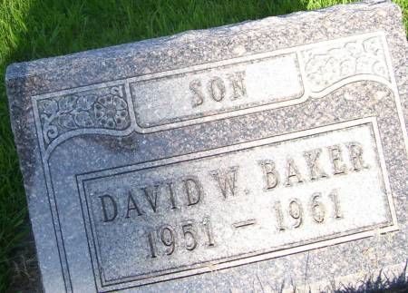 BAKER, DAVID WARREN - Plymouth County, Iowa | DAVID WARREN BAKER