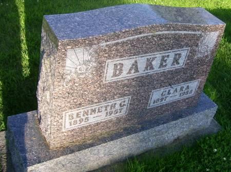 BAKER, CLARA - Plymouth County, Iowa | CLARA BAKER
