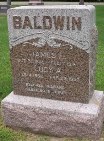 BALDWIN, LUCY A. - Plymouth County, Iowa | LUCY A. BALDWIN