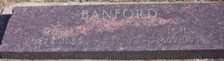 BANFORD, JOHN - Plymouth County, Iowa | JOHN BANFORD