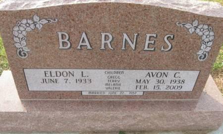 BARNES, AVON CAROL - Plymouth County, Iowa   AVON CAROL BARNES