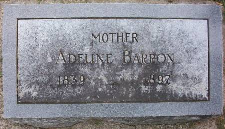 BARRON, ADELINE - Plymouth County, Iowa | ADELINE BARRON