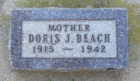 BEACH, DORIS J. - Plymouth County, Iowa | DORIS J. BEACH