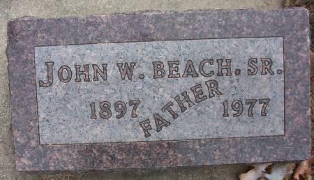 BEACH, JOHN W., SR. - Plymouth County, Iowa | JOHN W., SR. BEACH