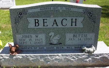 BEACH, JOHN WILLIAM - Plymouth County, Iowa | JOHN WILLIAM BEACH
