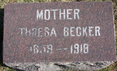 BECKER, THRESA - Plymouth County, Iowa | THRESA BECKER