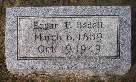 BEDELL, EDGAR T. - Plymouth County, Iowa | EDGAR T. BEDELL