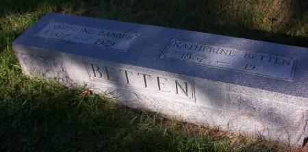 BETTEN BARBER, JOSEPHINE - Plymouth County, Iowa | JOSEPHINE BETTEN BARBER
