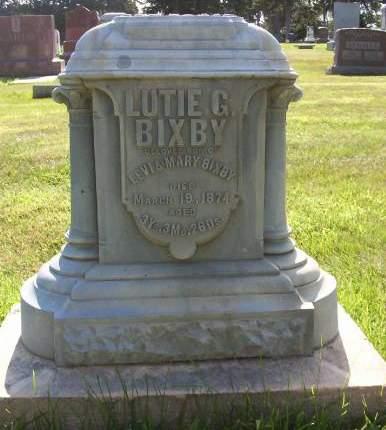 BIXBY, LUTIE G. - Plymouth County, Iowa | LUTIE G. BIXBY