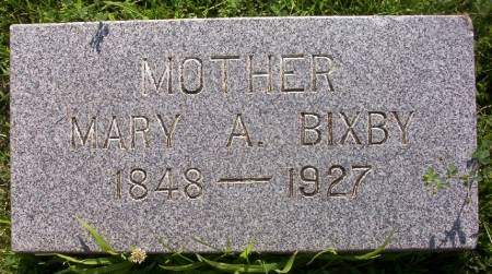 BIXBY, MARY A. - Plymouth County, Iowa | MARY A. BIXBY